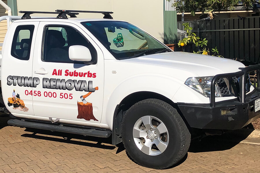 All Suburbs Stump Removal Ute